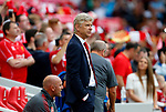 Arsenal's Manager Arsene Wenger watches on before the premier league match at Anfield Stadium, Liverpool. Picture date 27th August 2017. Picture credit should read: Paul Thomas/Sportimage