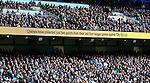 Messages displayed during play which can either deflate or encourage opponents during the Premier League match at the Etihad Stadium, Manchester. Picture date: December 3rd, 2016. Pic Simon Bellis/Sportimage