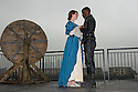 London, UK. 25.04.2014. Jessie Buckley (as Belvidera) and Ashley Zhangazha (as Jaffier) in VENICE PRESERV'D, a site responsive production, by the Spectators' Guild, at Payne & Borthwick Wharf. Photograph © Jane Hobson.