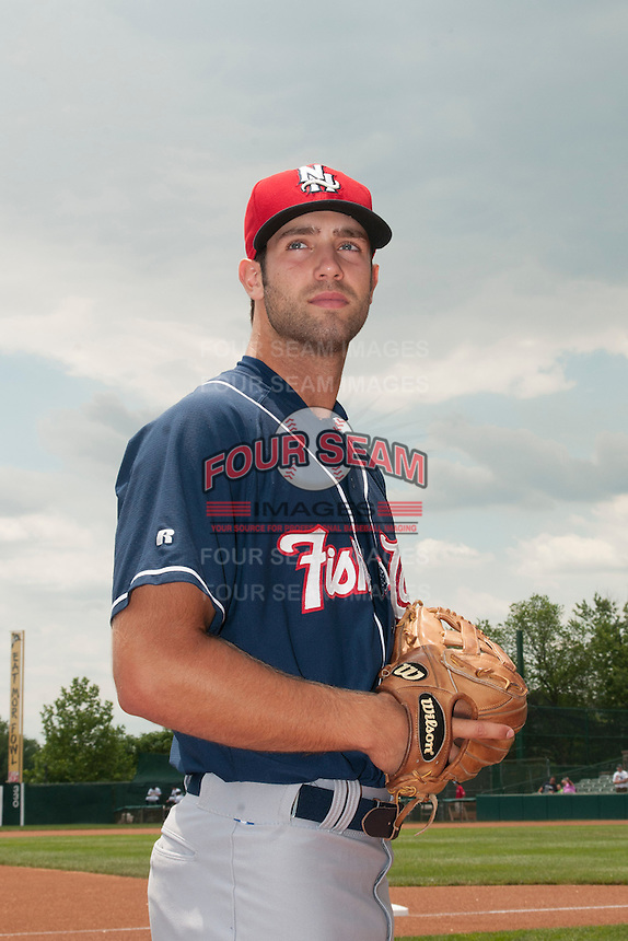 New Hampshire Fisher Cats pitcher Daniel Norris (19) during game against the Trenton Thunder at ARM & HAMMER Park on June 22, 2014 in Trenton, NJ.  New Hampshire defeated Trenton 7-2.  (Tomasso DeRosa/Four Seam Images)