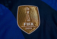 ORLANDO, FL - MARCH 05: Nike uniforms with the FIFA badge during a game between Spain and Japan at Exploria Stadium on March 05, 2020 in Orlando, Florida.