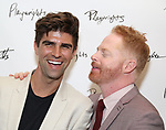 Justin Mikita and Jessie Tyler Ferguson attends the Opening Night Performance After Party for the Playwrights Horizons world premiere production of 'Log Cabin' on June 25, 2018 at Playwrights Horizons in New York City.