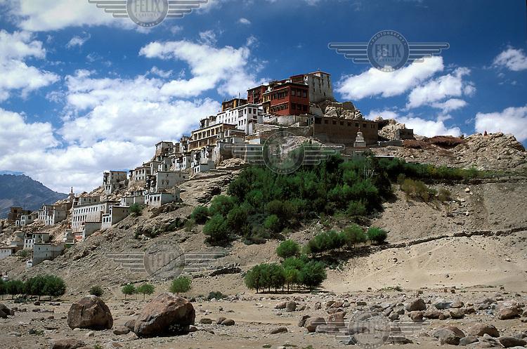 Tikse Buddhist monastery in Ladakh.