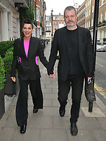 Lisa Stansfield and Ian Devaney at the Tom and Giovanna Fletcher's &quot;Eve of Man&quot; book launch party, The Marylebone Hotel, Welbeck Street, London, England, UK, on Thursday 31 May 2018.<br /> CAP/CAN<br /> &copy;CAN/Capital Pictures