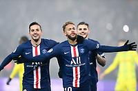 JOIE - 10 NEYMAR JR (PSG) - 19 PABLO SARABIA (PSG)<br /> 04/12/2019<br /> Paris Saint Germain PSG - Nantes <br /> Calcio Ligue 1 2019/2020 <br /> Foto Philippe LECOEUR Panoramic/insidefoto <br /> ITALY ONLY