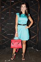 SAO PAULO, SP, 24 DE JANEIRO 2012 - SPFW  - MOVIMENTACAO - A apresentadora Amanda Francoso,  durante a São Paulo Fashion Week 2012, no predio da Bienal, no Parque do Ibirapuera, na zona sul de Sao Paulo, nesta terca-feira, 24. (FOTO: MILENE CARDOSO - NEWS FREE).