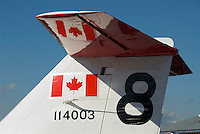 Canadair CT-114 Tutor Snowbird No. 8 Canadian Museum of Flight Langley Regional Airport CYNJ