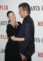 www.acepixs.com<br /> <br /> February 1 2017, LA<br /> <br /> Timothy Olyphant and Drew Barrymore arriving at the premiere Of Netflix's 'Santa Clarita Diet' at the ArcLight Cinemas Cinerama Dome on February 1, 2017 in Hollywood, California<br /> <br /> By Line: Peter West/ACE Pictures<br /> <br /> <br /> ACE Pictures Inc<br /> Tel: 6467670430<br /> Email: info@acepixs.com<br /> www.acepixs.com