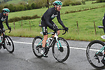 Race leader Max Schachmann (GER) Bora Hansgrohe in control of the peloton during Stage 4 of the Tour of the Basque Country 2019 running 163.6km from Vitoria-Gasteiz to Arrigorriaga, Spain. 11th April 2019.<br /> Picture: Colin Flockton | Cyclefile<br /> <br /> <br /> All photos usage must carry mandatory copyright credit (&copy; Cyclefile | Colin Flockton)