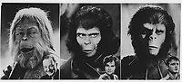 Planet of the Apes (1968) <br /> Roddy McDowall, Kim Hunter &amp; Maurice Evans<br /> *Filmstill - Editorial Use Only*<br /> CAP/KFS<br /> Image supplied by Capital Pictures