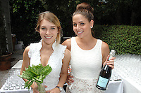 Brielle Strickland, Elizabeth Mikiewicz==<br /> LAXART 5th Annual Garden Party Presented by Tory Burch==<br /> Private Residence, Beverly Hills, CA==<br /> August 3, 2014==<br /> ©LAXART==<br /> Photo: DAVID CROTTY/Laxart.com==