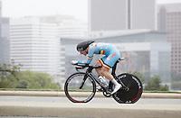 Ruben Pols (BEL) after finishing<br /> <br /> U23 Men TT<br /> UCI Road World Championships / Richmond 2015