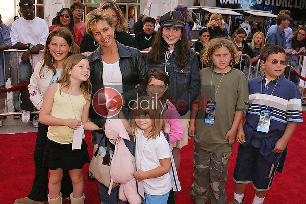 Gabrielle Carteris and kids