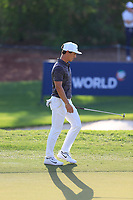 Thorbjorn Olesen (DEN) on the 15th during the 1st round of the DP World Tour Championship, Jumeirah Golf Estates, Dubai, United Arab Emirates. 15/11/2018<br /> Picture: Golffile | Fran Caffrey<br /> <br /> <br /> All photo usage must carry mandatory copyright credit (&copy; Golffile | Fran Caffrey)