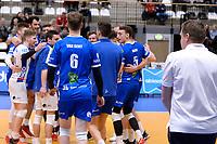 GRONINGEN - Volleybal, Lycurgus - RECO ZVH, halve finale beker, seizoen 2019-2020, 15-1-2020,  blijdschap na de 3-0 winst en finale plaats