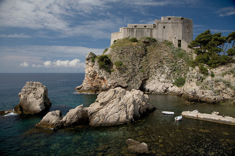 Croatia's 800 year old walled city of Dubrovnik.