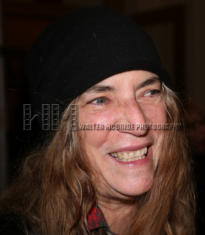 Patti Smith attending the Broadway Opening Night Performance of 'Waiting For Godot'  at the Cort Theatre in New York City on November 24, 2013.