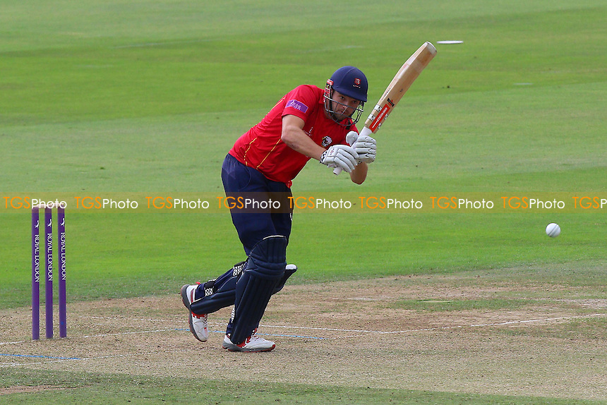 Nick Browne hits four runs for Essex during Middlesex vs Essex Eagles, Royal London One-Day Cup Cricket at Lord's Cricket Ground on 31st July 2016