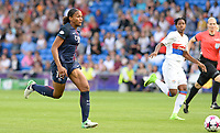 20170601 - CARDIFF , WALES : PSG's Marie-Laure Delie pictured during a womensoccer match between the teams of  Olympique Lyonnais and PARIS SG, during the final of the Uefa Women Champions League 2016 - 2017 at the Cardiff City Stadium , Cardiff - Wales - United Kingdom , Thursday 1  June 2017 . PHOTO SPORTPIX.BE | DAVID CATRY