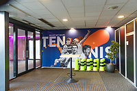 Den Bosch, The Netherlands, Februari 07 2019,  Maaspoort , FedCup  Netherlands - Canada, <br /> Photo: Tennisimages/Henk Koster