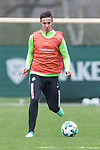 14.04.2018, Trainingsgelaende, Bremen, GER, 1.FBL, Training SV Werder Bremen<br /> <br /> im Bild<br /> Marco Friedl (Werder Bremen #32), <br /> <br /> Foto &copy; nordphoto / Ewert