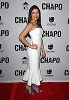 19 April 2017 - Los Angeles, California - Juliette Pardau. Univision's 'El Chapo' Original Series Premiere Event held at The Landmark Theatre. Photo Credit: AdMedia