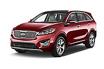 2016 KIA Sorento SXT 5 Door SUV angular front stock photos of front three quarter view