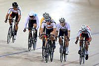 Pieter Bulling of Southland  leads out front in the Elite Men Omnium 3, Elimination, at the Age Group Track National Championships, Avantidrome, Home of Cycling, Cambridge, New Zealand, Saturday, March 18, 2017. Mandatory Credit: © Dianne Manson/CyclingNZ  **NO ARCHIVING**