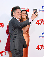 Johannes Roberts &amp; Mandy Moore at the Los Angeles premiere for &quot;47 Meters Down&quot; at the Regency Village Theatre, Westwood. <br /> Los Angeles, USA 12 June  2017<br /> Picture: Paul Smith/Featureflash/SilverHub 0208 004 5359 sales@silverhubmedia.com