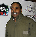 Cast Black Angels - Lamman Rucker on February 26, 2011 at the Actors Temple Theatre, New York City, New York. (Photo by Sue Coflin/Max Photos)