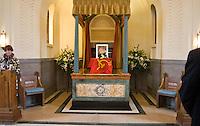 Comrade Godfrey Andries Cremer's Funeral service, Mortlake Crematorium, Richmond London, 5 April 2012
