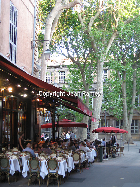 French cafe, Aix-en-Provence