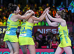 29/10/17 Fast5 2017<br /> Fast 5 Netball World Series<br /> Hisense Arena Melbourne<br /> 3/4 Australia v New Zealand <br /> <br /> <br /> <br /> Photo: Grant Treeby