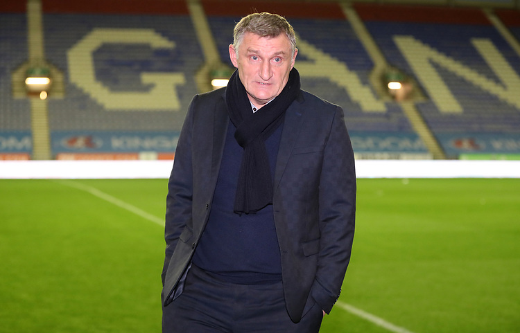 Blackburn Rovers manager Tony Mowbray <br /> <br /> Photographer Rachel Holborn/CameraSport<br /> <br /> The EFL Sky Bet Championship - Wigan Athletic v Blackburn Rovers - Wednesday 28th November 2018 - DW Stadium - Wigan<br /> <br /> World Copyright © 2018 CameraSport. All rights reserved. 43 Linden Ave. Countesthorpe. Leicester. England. LE8 5PG - Tel: +44 (0) 116 277 4147 - admin@camerasport.com - www.camerasport.com