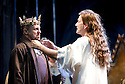 Richard II by William Shakespeare, A Royal Shakespeare Company Production directed by Gregory Doran. With Nigel Lindsay as Bolingbroke, David Tennant as Richard II. Opens at The Royal Shakespeare Theatre, Stratford Upon Avon  on 17/10/13  pic Geraint Lewis