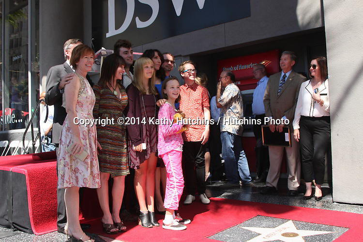 LOS ANGELES - SEP 9:  Katey Sagal, family at the Katey Sagal Hollywood Walk of Fame Star Ceremony at Hollywood Blvd. on September 9, 2014 in Los Angeles, CA