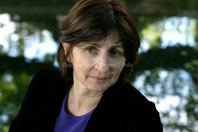 Catherine Guillebaud, French writer in 2009.
