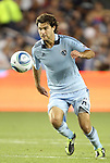 09 June 2011: Kansas City's Graham Zusi. Sporting Kansas City played the Chicago Fire to a 0-0 tie in the inaugural game at LIVESTRONG Sporting Park in Kansas City, Kansas in a 2011 regular season Major League Soccer game.