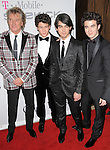 Rod Stewart,Nick Jonas,Joe Jonas & Kevin Jonas at The Clive Davis / Recording Academy Annual Pre- Grammy Party held at The Beverly Hilton Hotel in Beverly Hills, California on February 07,2009                                                                     Copyright 2009 Debbie VanStory/RockinExposures