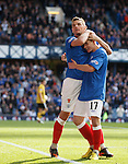 Lee McCulloch and Fraser Aird