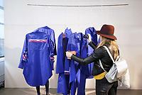 Nederland  Eindhoven 2017 . DDW. Dutch Design Week.  Expositie in de Witte Dame. Graduation Show.  About a Worker van Kim Hou.   Foto Berlinda van Dam / Hollandse Hoogte