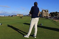 Danny Willett (ENG) on the 18th tee during Round 3 of the Alfred Dunhill Links Championship 2019 at St. Andrews Golf CLub, Fife, Scotland. 28/09/2019.<br /> Picture Thos Caffrey / Golffile.ie<br /> <br /> All photo usage must carry mandatory copyright credit (© Golffile | Thos Caffrey)