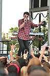 SUNRISE, FL - DECEMBER 21: Musicians Charley Bagnall of the band Rixton performs at Y100's Jingle Ball Village, Y100's Jingle Ball 2014 official pre-show at BB&T Center on December 21, 2014 in Sunrise, Florida.  (Photo by Johnny Louis/jlnphotography.com)