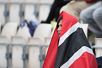 Covered by the flag - before the start of play during South Africa vs West Indies, ICC World Cup Cricket at the Hampshire Bowl on 10th June 2019