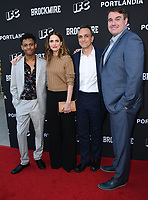 "15 May 2018 - North Hollywood, California - Tyrel Jackson WIlliams, Amanda Peet, Joel Church-Cooper, Hank Azaria. IFC's ""Portlandia"" and ""Brockmire"" FYC Event held at the Saban Media Center at the Television Academy. Photo Credit: Birdie Thompson/AdMedia"