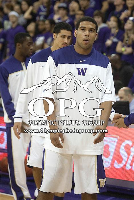 Jan 10, 2012:  Washington's Austin Seferian-Jenkins against Seattle University. Washington defeated Seattle University  91-83 at Alaska Airlines Arena Seattle, Washington..