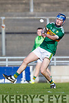 Shane Conway Kerry in action against  Carlow in Div 2a of the National Hurling League at Austin Stack Park Tralee on Sunday.