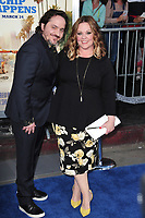 Melissa McCarthy &amp; Ben Falcone at the premiere for &quot;CHiPS&quot; at the TCL Chinese Theatre, Hollywood. Los Angeles, USA 20 March  2017<br /> Picture: Paul Smith/Featureflash/SilverHub 0208 004 5359 sales@silverhubmedia.com