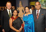 From left: Peter Marzio, Prabha Bala, Shantha Raghuthaman and A.P. Raghuthaman at the Arts of India Gallery launch party at the Museum of Fine Arts Houston Thursday May 14,2009.(Dave Rossman/For the Chronicle)