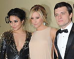 Vanessa Hudgens ,Ashley Tisdale and Josh Hutcherson  at THE WEINSTEIN COMPANY 2013 GOLDEN GLOBES AFTER-PARTY held at The Old trader vic's at The Beverly Hilton Hotel in Beverly Hills, California on January 13,2013                                                                   Copyright 2013 Hollywood Press Agency